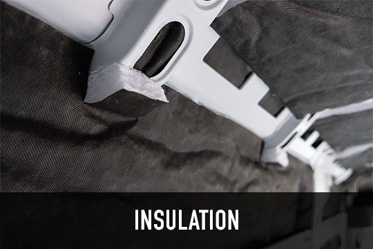Insulation in camper van