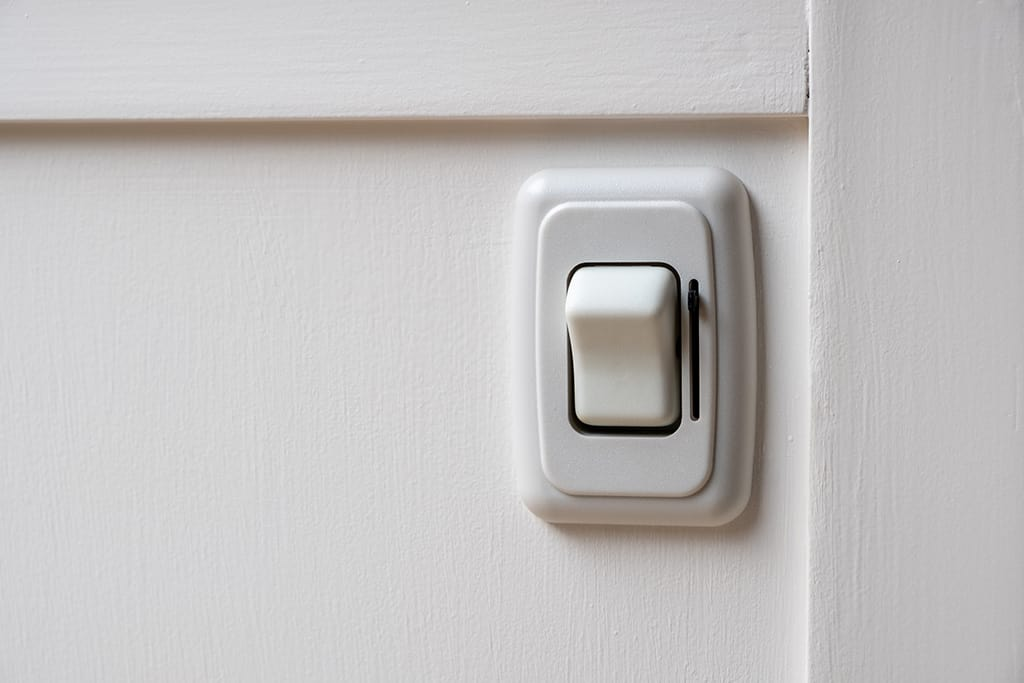 Light switch for kitchen