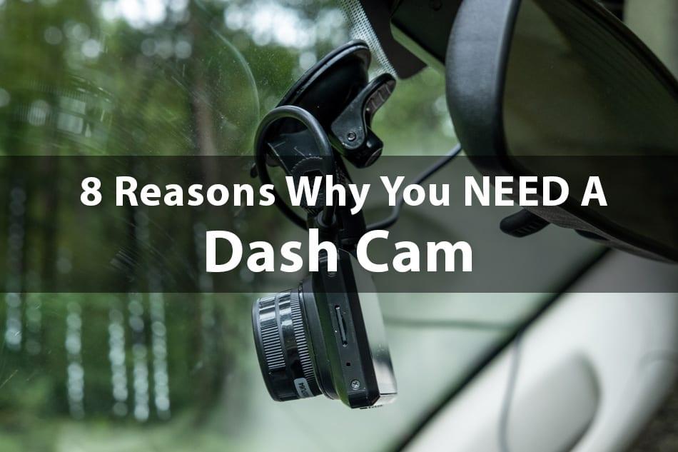 Dash cam in RV windshield