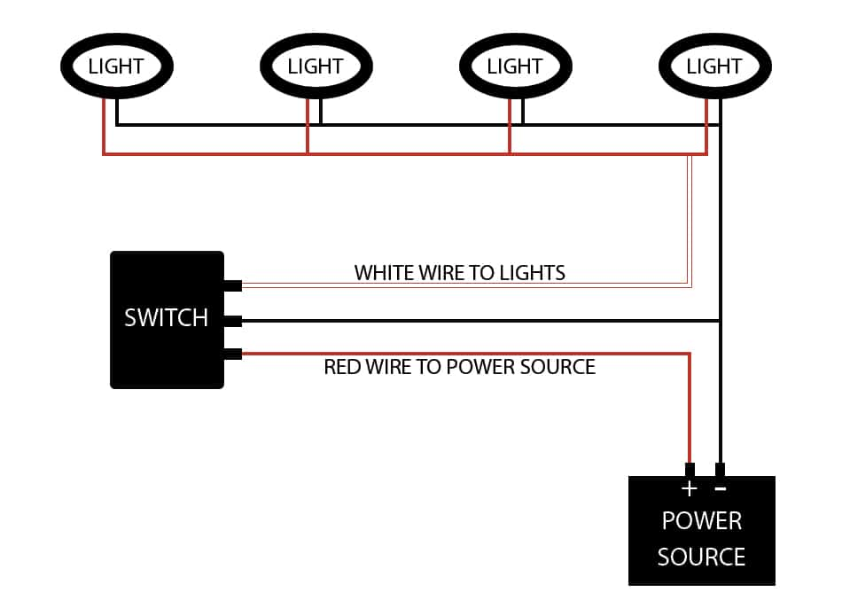 Van conversion dimmable light switch diagram